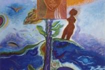 acrylic+oil+metal on canvas– 2005 cm.120x100
