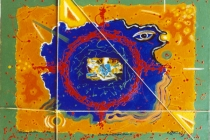 acrilic+oil on canvas – 2004 cm.80x60