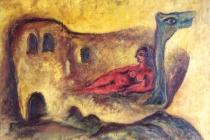 Oil on canvas – 1965 cm. 100x70