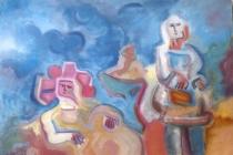 Oil on canvas – 1965 cm. 70x50