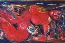 Oil on canvas – 1968 cm.180x70