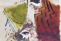 oil on cardboard 50x70 1969