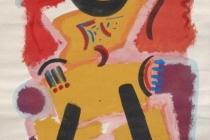 acrilic on cardboard 50x70 1987