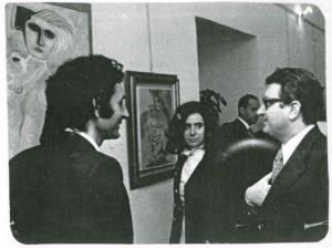 Kattinis, Sandra Giannattasio, Gastone Favero.- Exhibition- Museum Palazzo Braschi - Roma, 1972